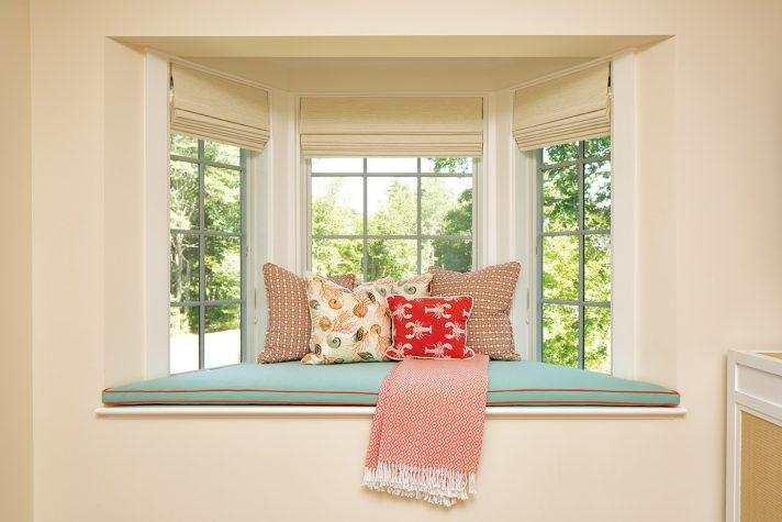 Window seat designed by Louise Hurlbutt