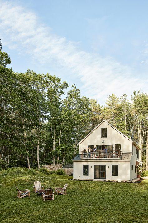 A Cape home in Kennebunk built by Scott Raymond