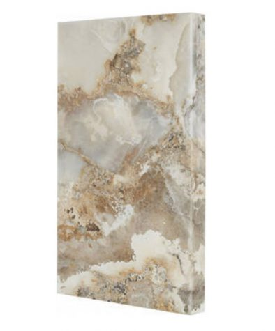 Rock accent wall piece