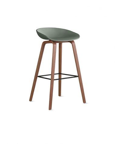 Light green stool for your interior design